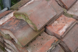 Victorian clay coping stones
