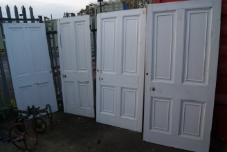 Large Victorian four panel doors