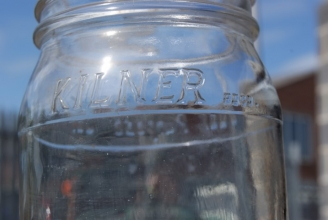 Kilner storage jars