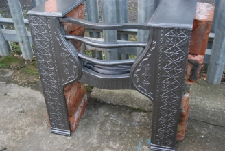 Decorative hob grate