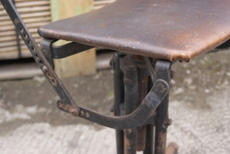 Vintage machinists chair