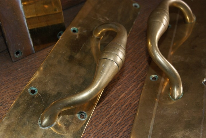 Victorian pull handles