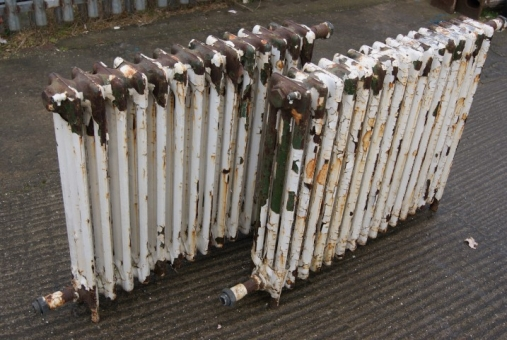 Reclaimed cast iron radiators