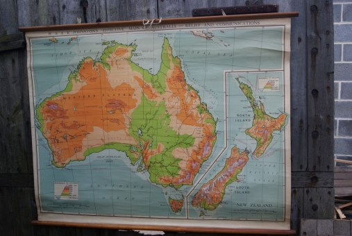 Johnston's map of Australia
