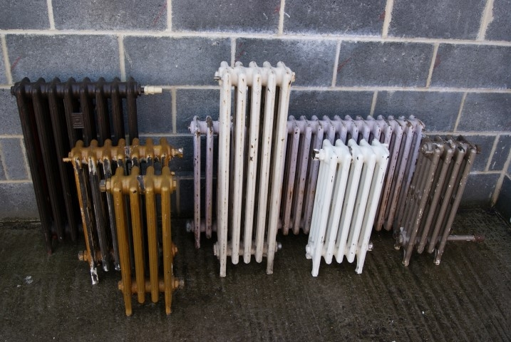 Four column cast iron rads