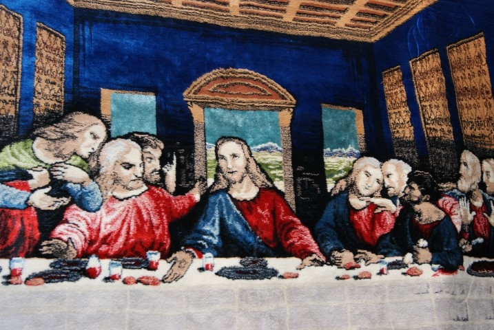 Last supper tapestry