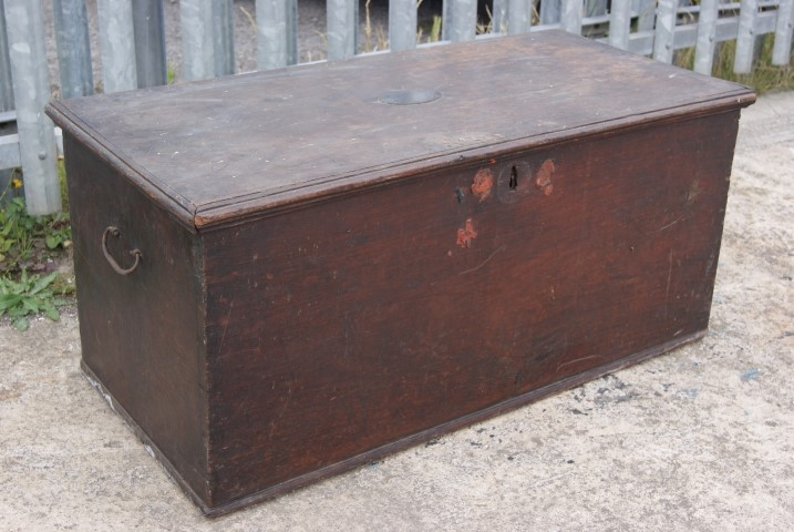 Victorian ships trunk
