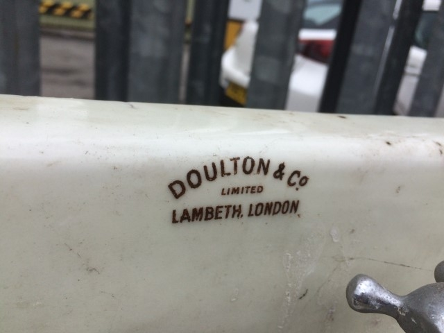 Doulton laundry sinks