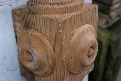 Victorian newel post