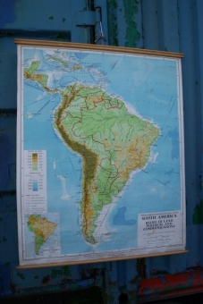 Philips map of South America