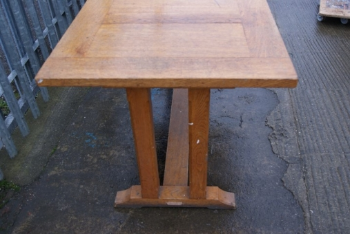Oak refrectory table